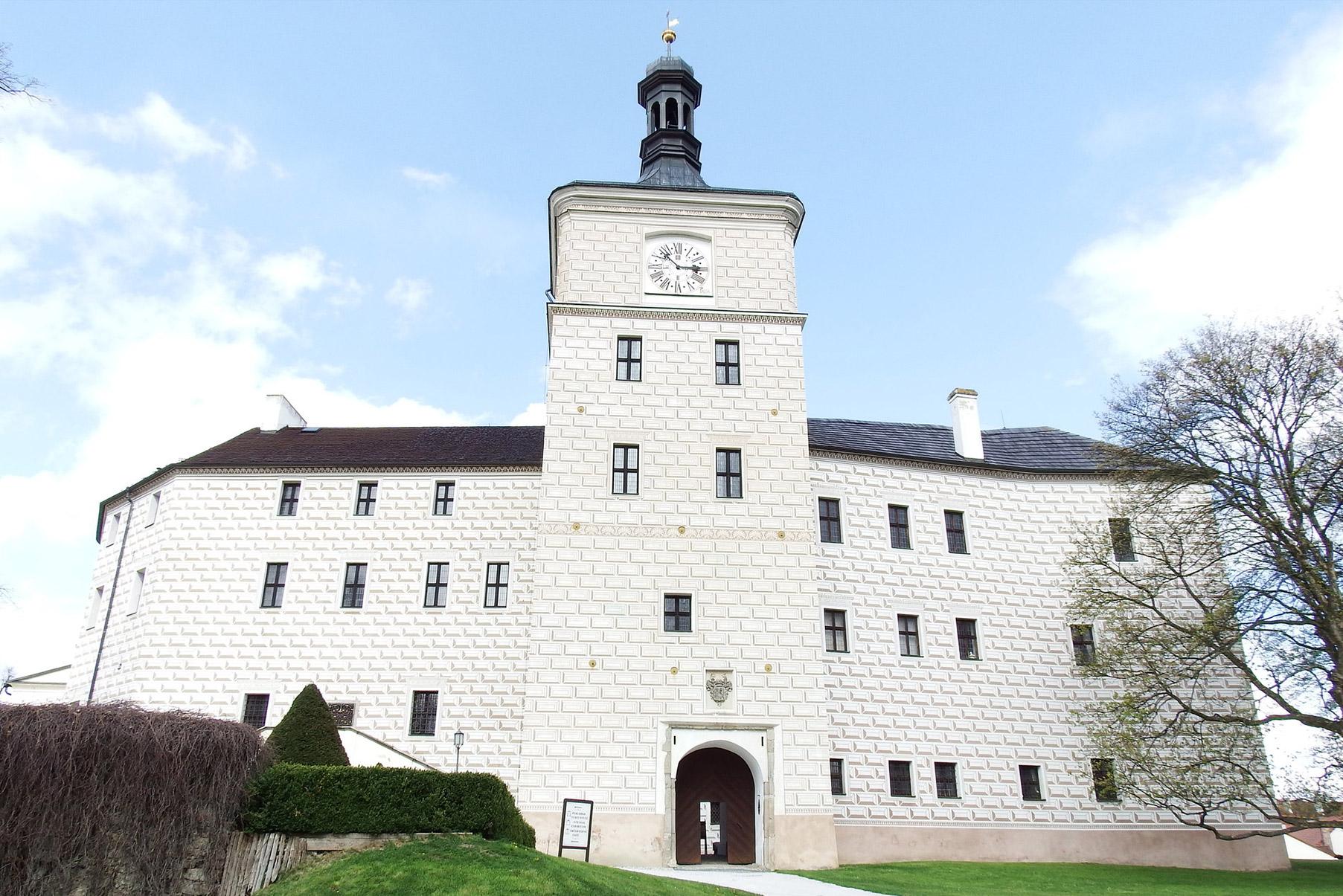 Březnice chateau