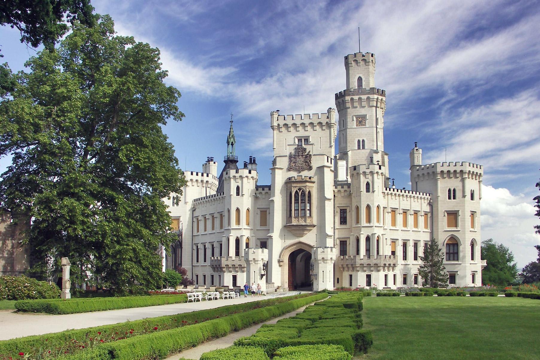 Hluboká nad Vltavou chateau