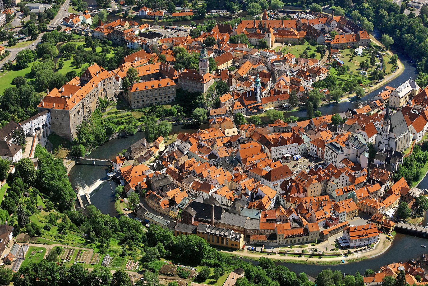 Český Krumlov - center (UNESCO)